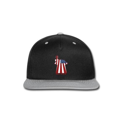 Big Stick Patriotic U.S. Aircraft Carrier - Snap-back Baseball Cap