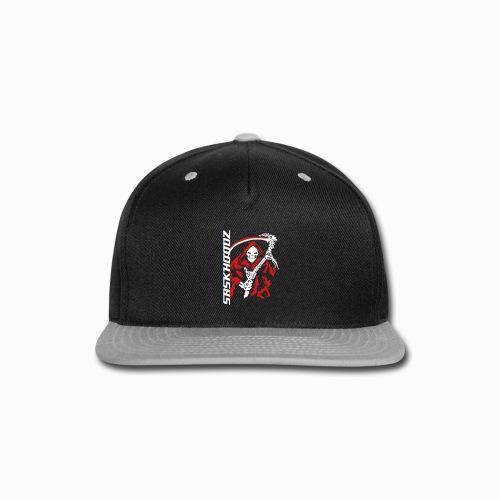 saskhoodz skullreaper - Snap-back Baseball Cap
