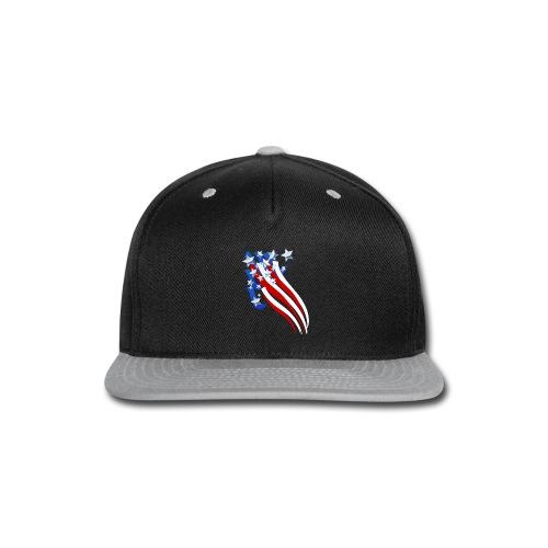 Sweeping Old Glory - Snap-back Baseball Cap