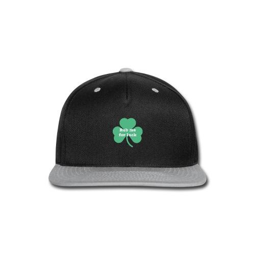 Rub me for luck - Snap-back Baseball Cap