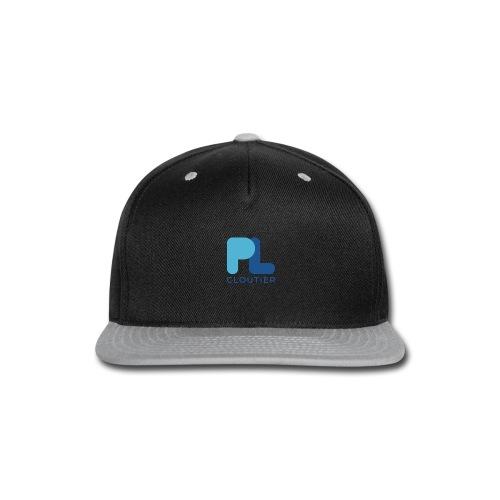 Logo_PLCloutier_BB_RGB - Snap-back Baseball Cap