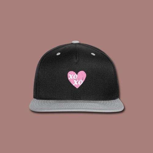 xoxodesignlogo 03 - Snap-back Baseball Cap