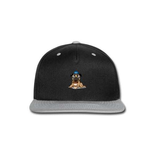 Coffee pug - Snap-back Baseball Cap