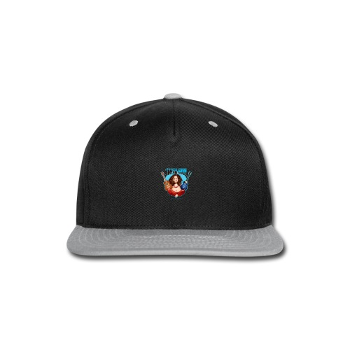 Guitar Guru Laughing Buddha - Snap-back Baseball Cap