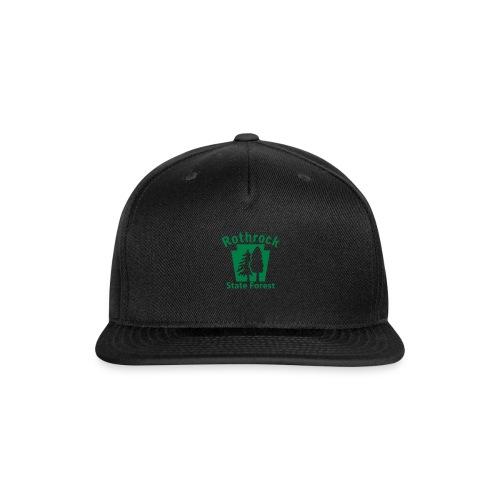 Rothrock State Forest Keystone (w/trees) - Snap-back Baseball Cap
