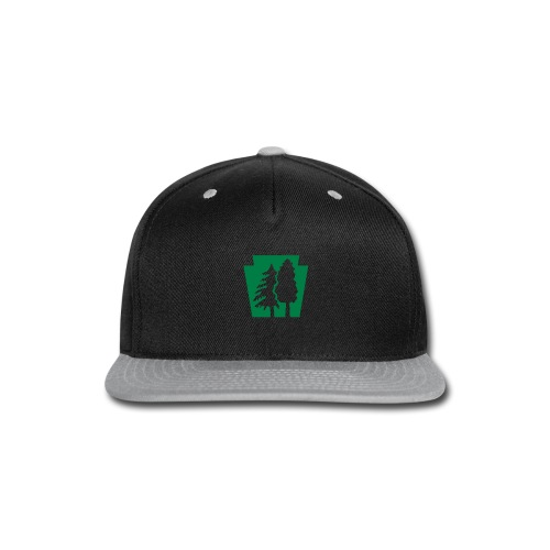 PA Keystone w/trees - Snap-back Baseball Cap