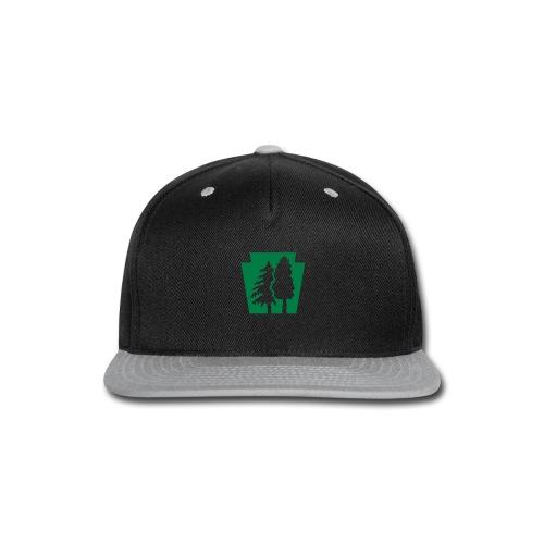 PA Keystone w/trees - Snap-back Baseball Cap