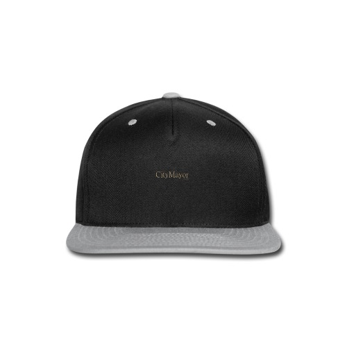 CityMayor Games Logo - Snap-back Baseball Cap