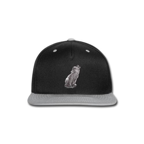 Little Howling Wolf - Snap-back Baseball Cap