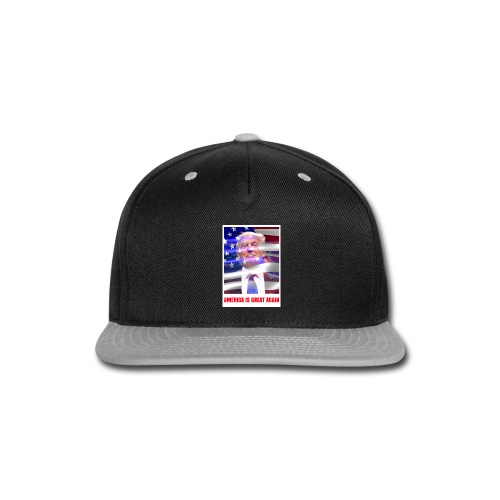 AMERICA IS GREAT AGAIN - Snap-back Baseball Cap