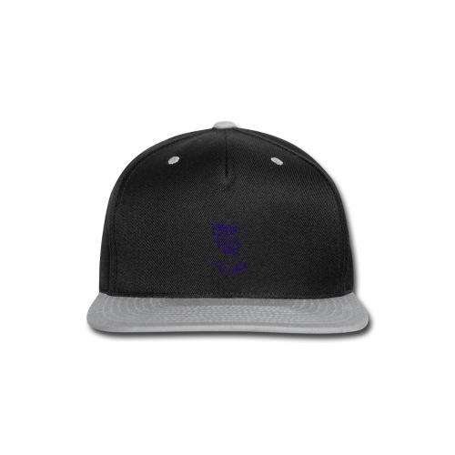 bitumen don't kill my vibe - navy - Snap-back Baseball Cap