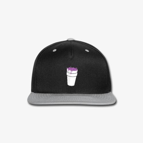 Lean Lean Double Cup - Snap-back Baseball Cap