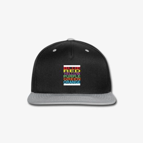 Color Confusion - Snap-back Baseball Cap
