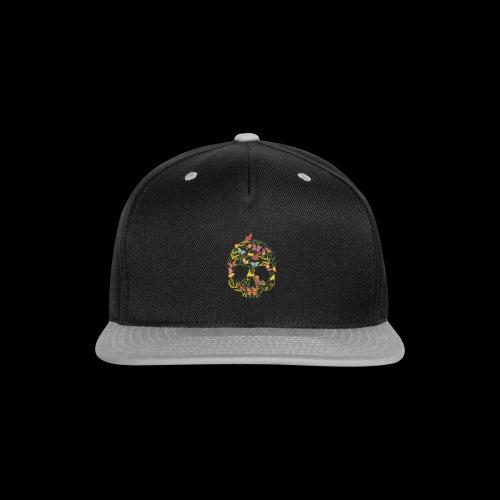 Botanical Skull - Snap-back Baseball Cap