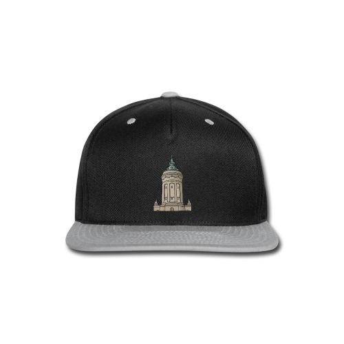 Mannheim water tower - Snap-back Baseball Cap