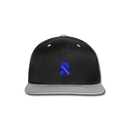 CVS awareness ribbon - Snap-back Baseball Cap