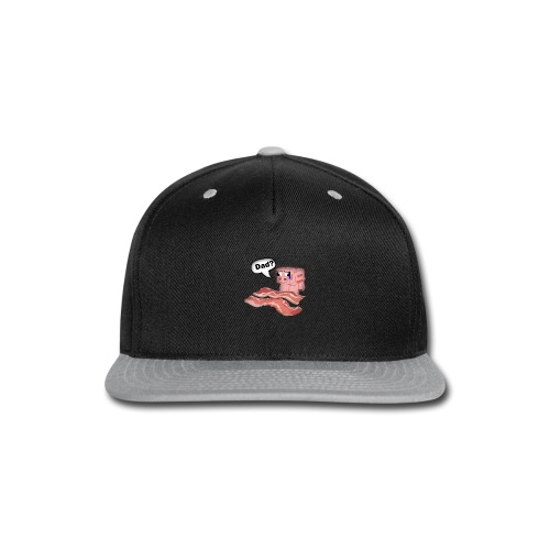 Bacon Tee Shirt - Snap-back Baseball Cap