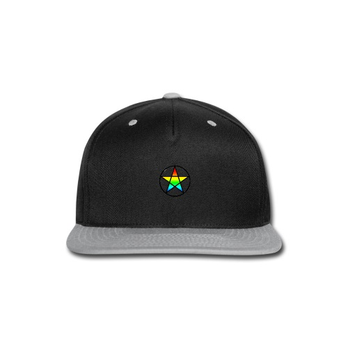 Official Iridescent Tee-Shirt // Men's // White - Snap-back Baseball Cap