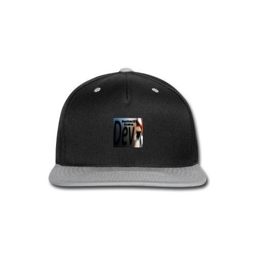 Deadiron123 Gaming Dev Phone case. - Snap-back Baseball Cap