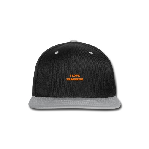 iloveblogging - Snap-back Baseball Cap