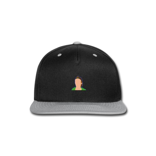 iCanE Cartoon - Snap-back Baseball Cap