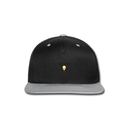 God is Lit - Snap-back Baseball Cap