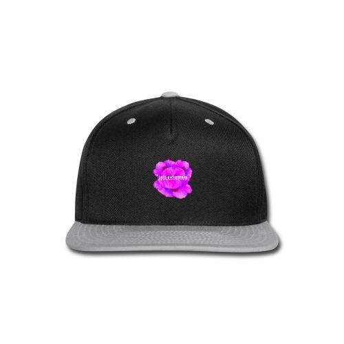 lets_get_purple_2 - Snap-back Baseball Cap