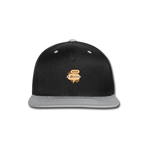 Blanc - Snap-back Baseball Cap