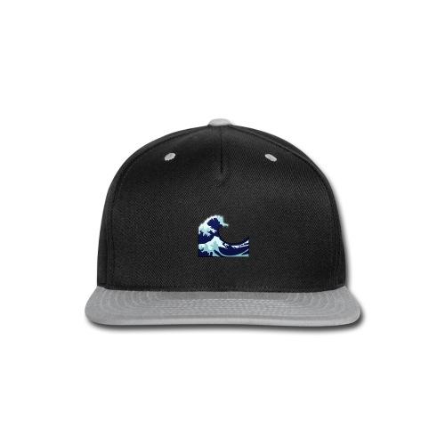 Wave Tsunami Logo - Snap-back Baseball Cap
