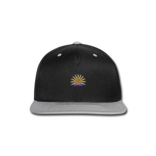 Prayer Hands (Brown) - Snap-back Baseball Cap