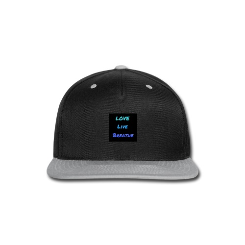 The Day Shift Academy Blue LLB Design - Snap-back Baseball Cap