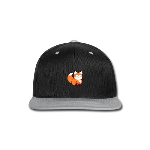 fat baby fox - Snap-back Baseball Cap