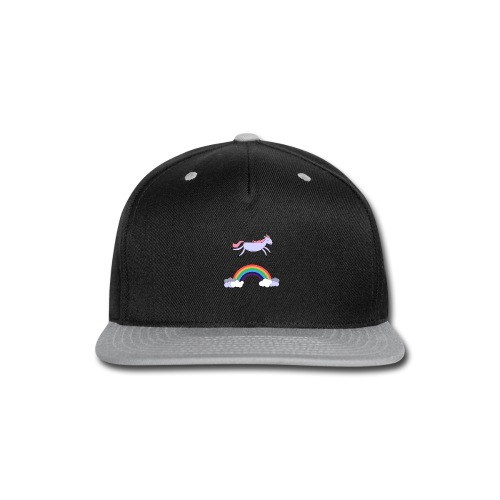 Flying Unicorn - Snap-back Baseball Cap