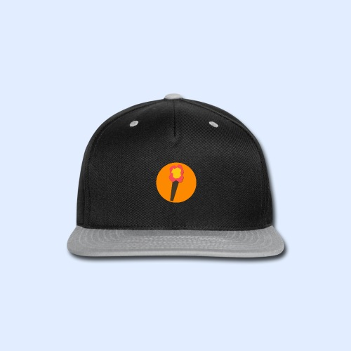 NeoMc Redstone Torch Design - Snap-back Baseball Cap