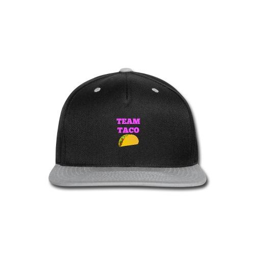 TEAMTACO - Snap-back Baseball Cap