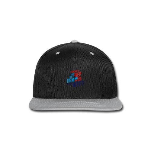 Tshirt 03 Light - Snap-back Baseball Cap