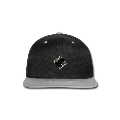 RISE AND GRIND - Snap-back Baseball Cap