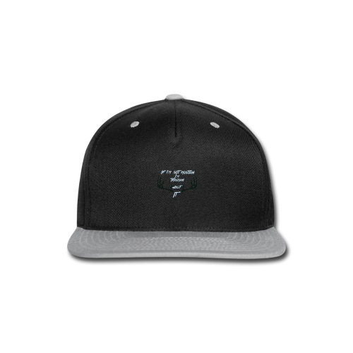 IMG 1080 - Snap-back Baseball Cap