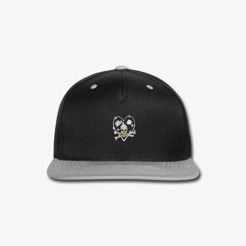 Pirate heart - Snap-back Baseball Cap