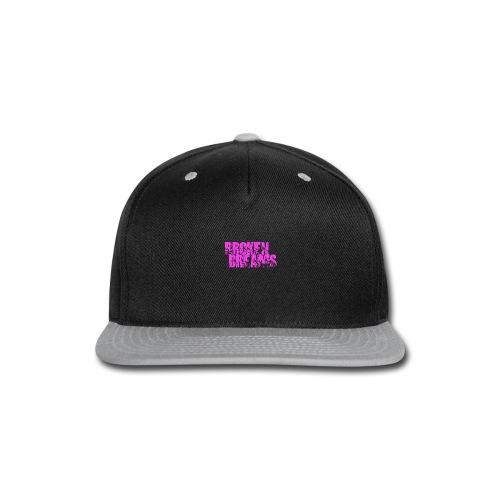 BROKEN DREAMS - Snap-back Baseball Cap