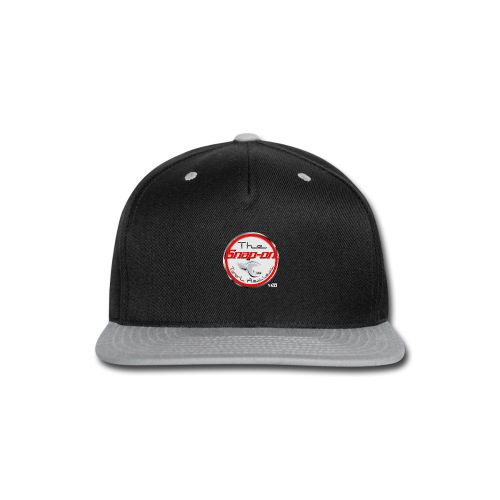 red logo white youtube - Snap-back Baseball Cap