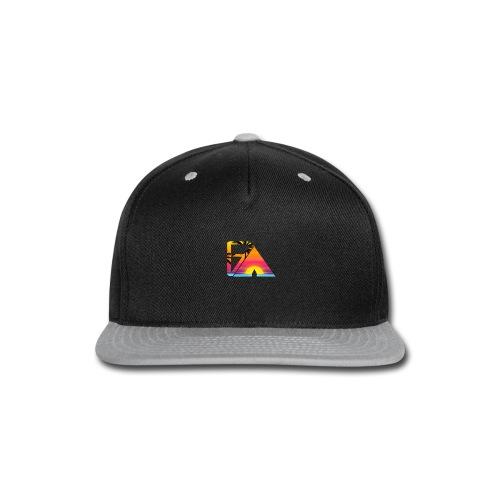 Beach theme - Snap-back Baseball Cap