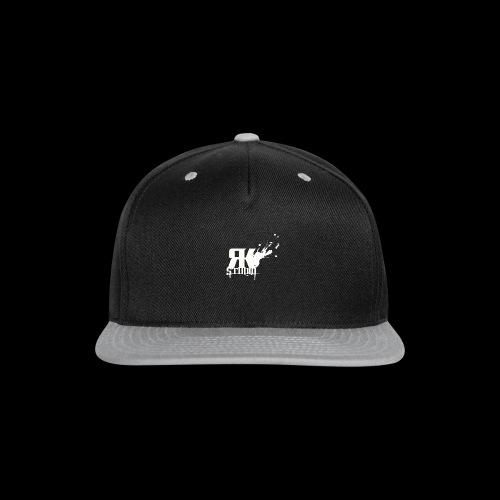 RKStudio White Logo Version - Snap-back Baseball Cap