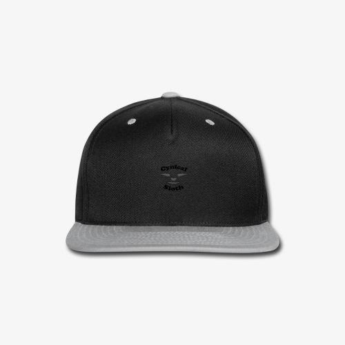 Cynical Sloth limited-edition company logo - Snap-back Baseball Cap