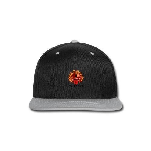 Sri Lanka Mask - Snap-back Baseball Cap