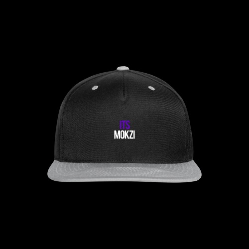 Mokzi shirts and hoodies - Snap-back Baseball Cap