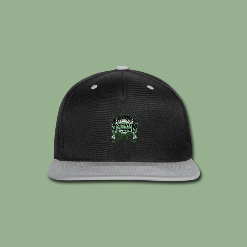 Akronym Skull and Logo - Snap-back Baseball Cap