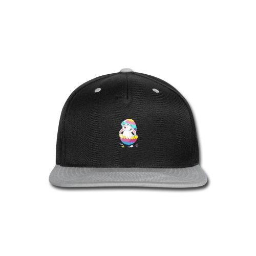Easter Bunny in Egg, Easter egg hatches bunny - Snap-back Baseball Cap