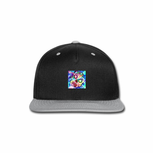 Tattooed Sugar Skull - Snap-back Baseball Cap