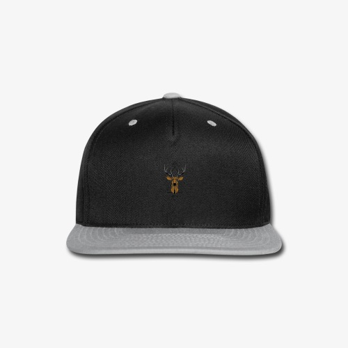Deer Geometric - Snap-back Baseball Cap